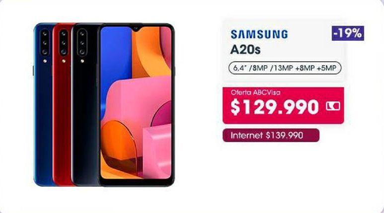 Oferta de Celulares Samsung por $129990