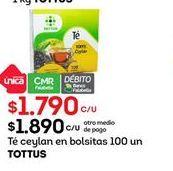 Oferta de Té Tottus por $1790