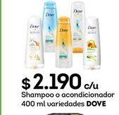 Oferta de Productos para el cabello Dove por $2190