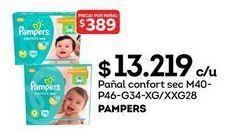 Oferta de Pañales Pampers por $13