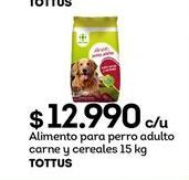 Oferta de Alimento balanceado para perros Tottus por $12990