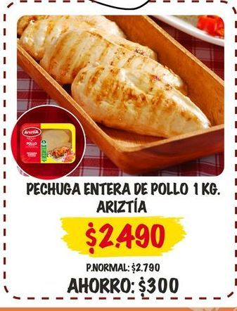 Oferta de Pechuga de pollo por $2490