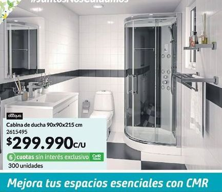 Oferta de Cabina de ducha por $299990