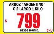 Oferta de Arroz Argentino  por $799
