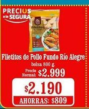 Oferta de Filetes de pollo rio alegre por $2190