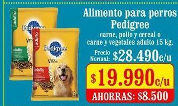 Oferta de Comida para perros Pedigree por $19990
