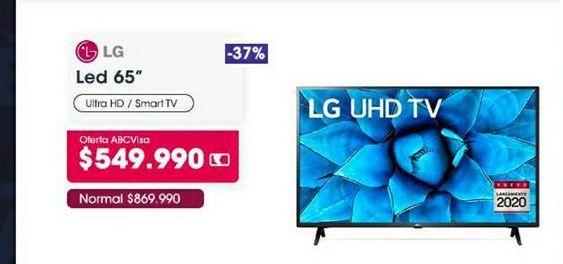Oferta de Tv led lg por $549990