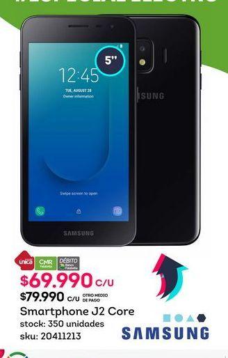 Oferta de Celulares Samsung por $69990