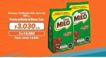 Ofertas de Complementos Milo por $3030