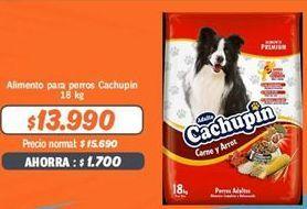 Oferta de Comida para perros Cachupin por $13990