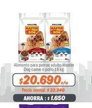 Oferta de Comida para perros Master Dog por $20690