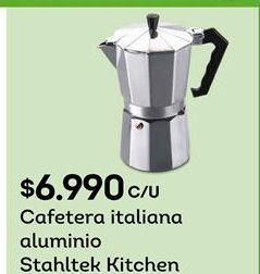 Oferta de Cafetera Stahltek Ktichen por $6990