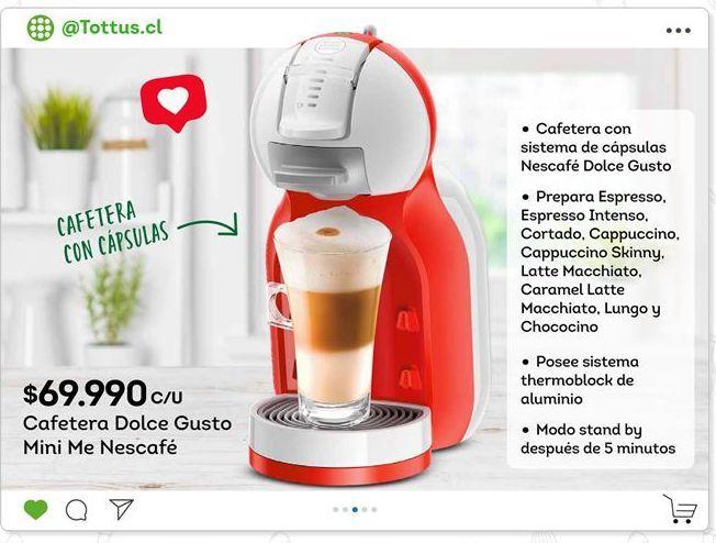 Oferta de Cafetera Dolce Gusto por $69990