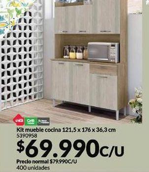 Ofertas de Kit mueble cocina por $69990