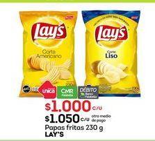 Oferta de Papas fritas Lay's por $1000