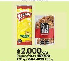 Oferta de Papas fritas Kryzpo por $2000