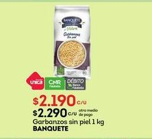 Oferta de Garbanzos Banquete por $2190