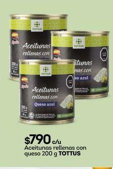 Oferta de Aceitunas Tottus por $790