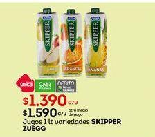 Oferta de Jugos Skipper Zuegg por $1390