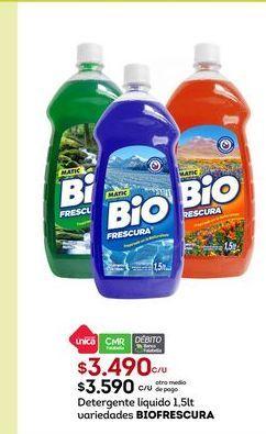 Oferta de Detergente Bio por $3490