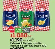 Oferta de Fideos Carozzi por $1080