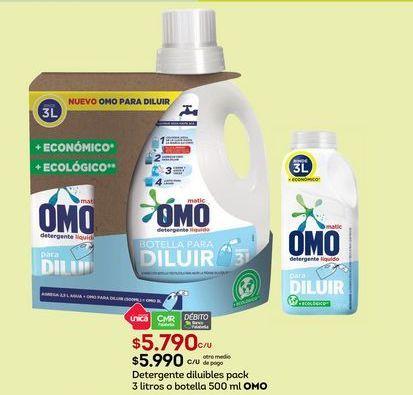 Oferta de Detergente Omo por $5790