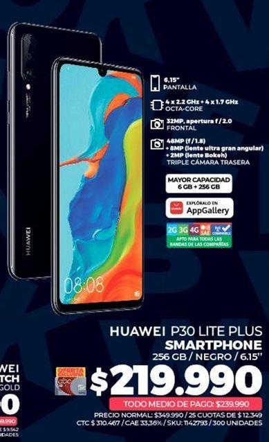 Oferta de Celulares Huawei por $219990