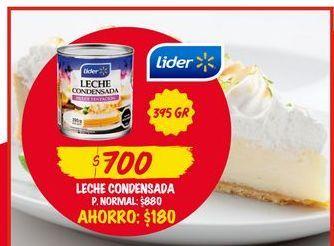 Oferta de Leche condensada Lider por $700