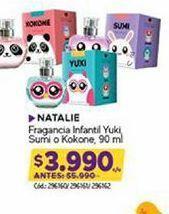 Oferta de Fragancias NATALIE por $3990