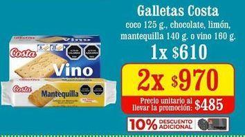 Ofertas de Galletas Costa por $970