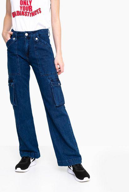 Oferta de Jeans de Algodón Mujer por $8,99