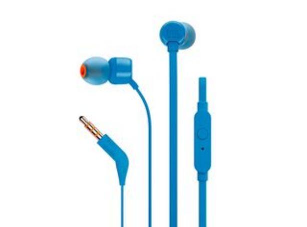Oferta de Audífonos JBL Tune 110 Azul por $6990