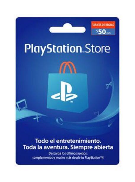 Oferta de Tarjeta PlayStation PSN 50 USD por $54990