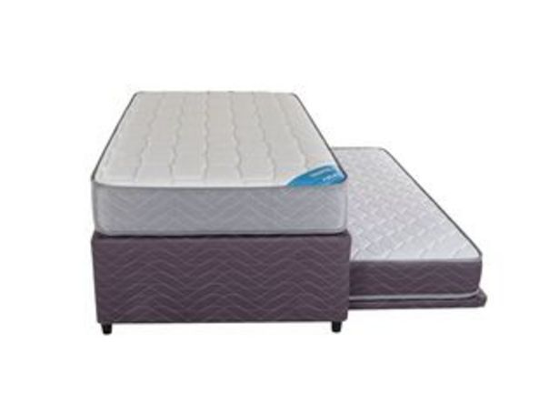 Oferta de Diván Cama Therapedic Colors Dream Morado 1.5 Plazas Flex por $229990