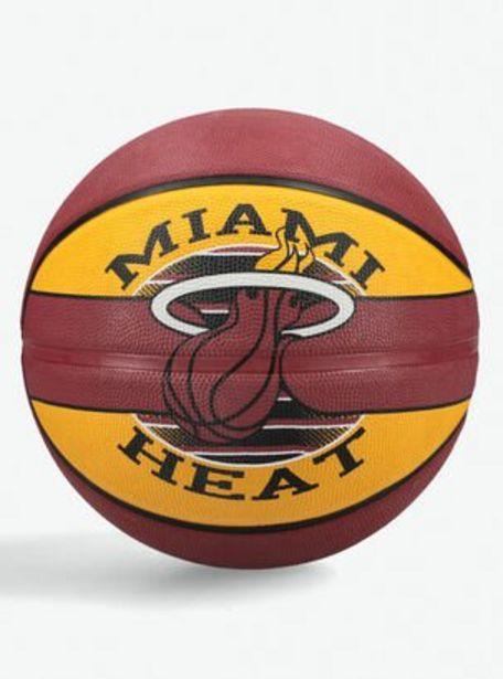Ofertas de Pelota de Básquetbol Spalding NBA Miami Heat por $10990