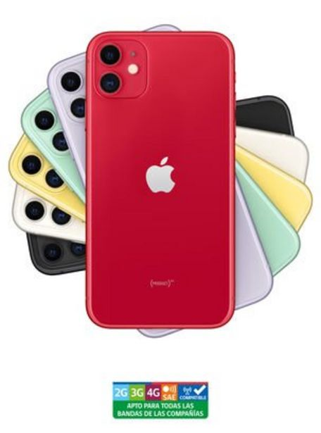 Ofertas de IPhone 11 64GB Red Liberado por $649990