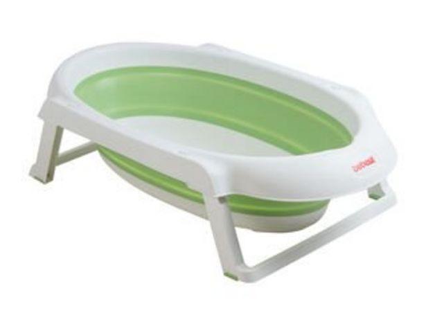 Oferta de Bañera Jelly Plegable Verde Bebesit por $24990