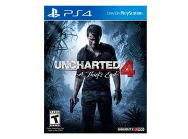 Oferta de Juego PS4 Uncharted 4 por $16990