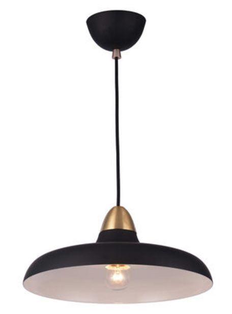 Oferta de Lámpara Colgante Puconci Negro Abitare por $32890