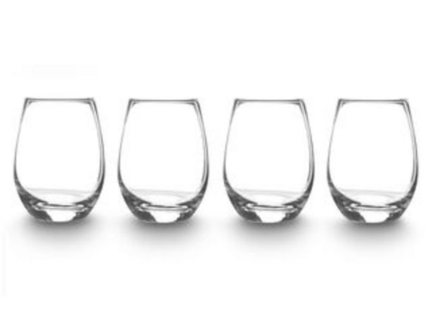 Oferta de Set 4 vasos Tumbler Alaniz Home por $8990