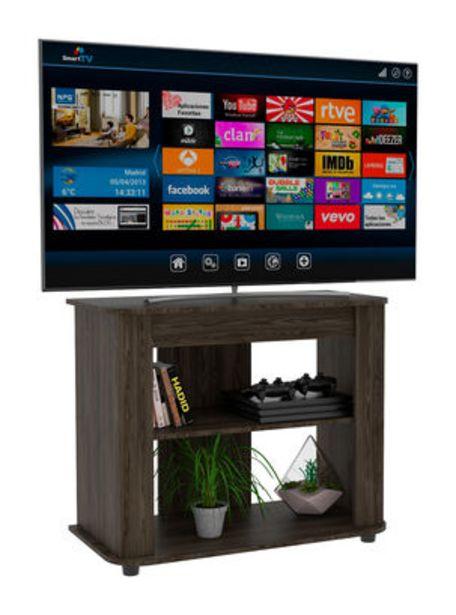 "Oferta de Rack TV 46"" Maori Coñac TuHome por $39990"