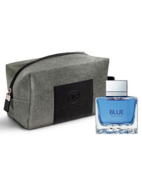 Oferta de Set Belleza Antonio Banderas Blue EDT 100 ml + Neceser Gris por $19990