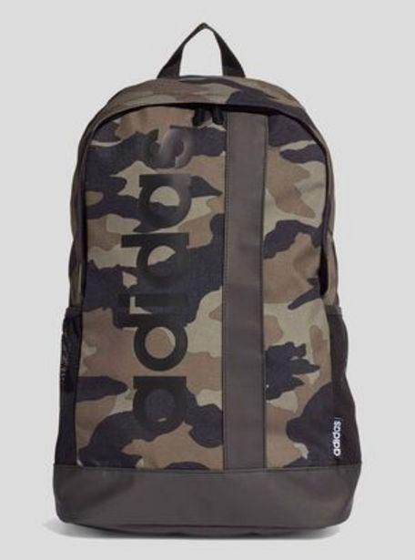 Oferta de Mochila Adidas Camo Linear Logo Unisex por $12590