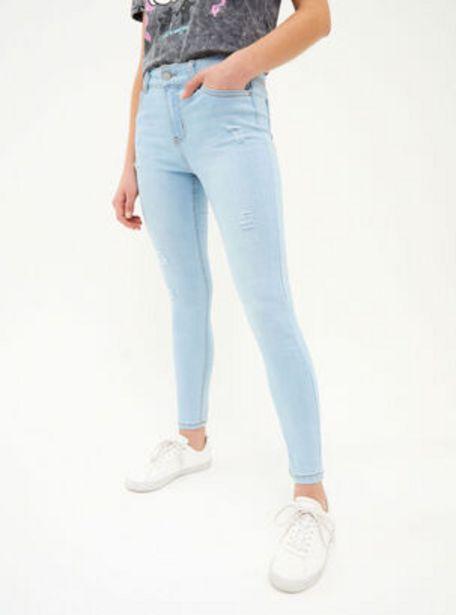 Oferta de Jeans Skinny Roturas T36-T38-T40 Opposite por $12990