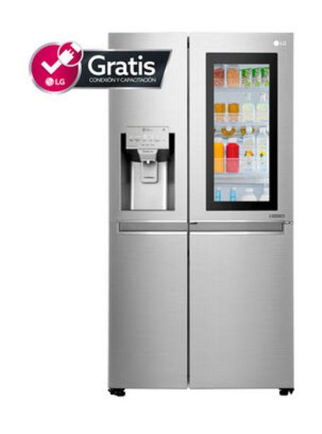 Oferta de Refrigerador Side By Side LG No Frost 601 Litros LS65SXN por $1069990