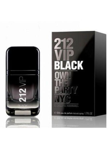 Oferta de Perfume Carolina Herrera 212 Vip Black Hombre EDP 50 ml EDL por $29990