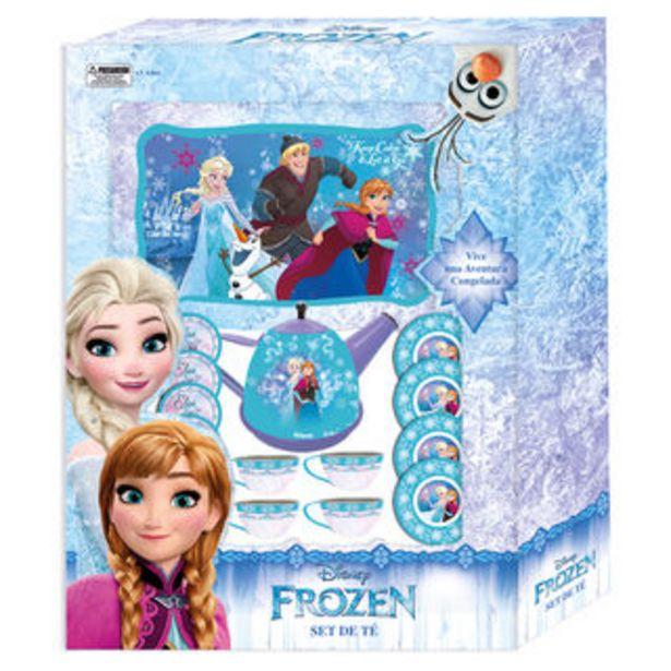 Oferta de Set Te Metalico Frozen Disney Pronobel por $14158