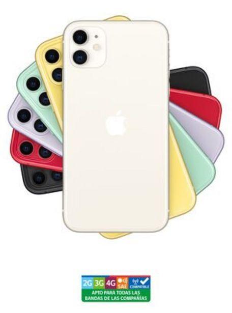 Oferta de IPhone 11 64GB White Liberado por $659990