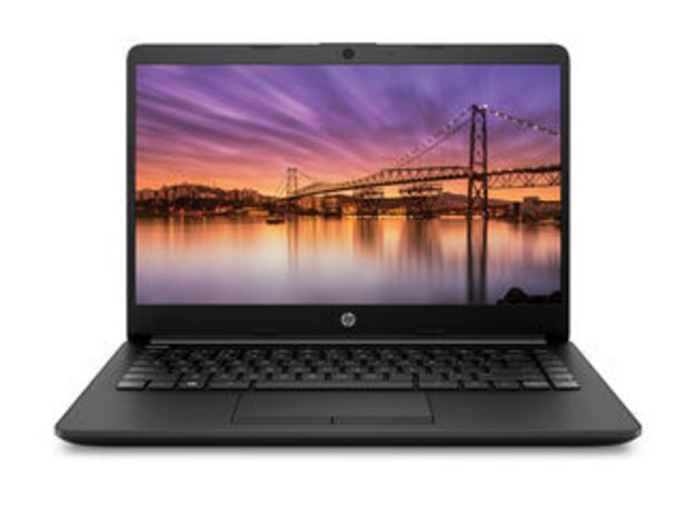 "Oferta de Notebook HP 14-cf0011la Intel Core i3-8130U 4GB RAM 128GB SSD 14"" por $409990"