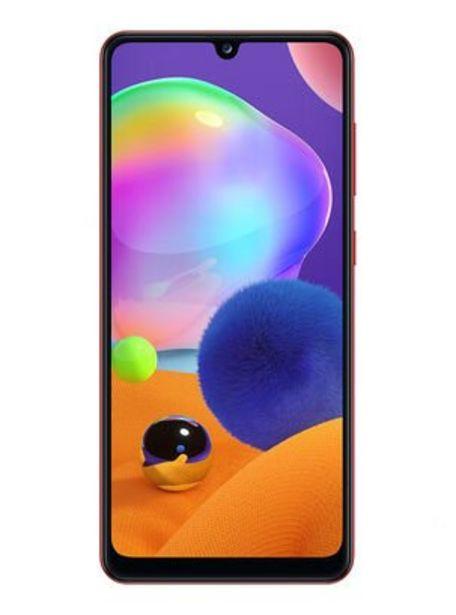 Oferta de Smartphone Samsung A31 128GB Rojo Liberado por $239990